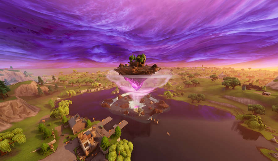 Fortnite Floating island